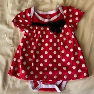 Minnie Onesie, Disney baby Collection, 18-24M NWOT